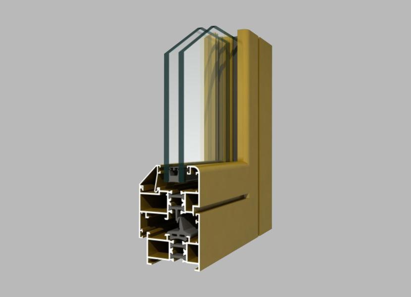 50GR Thermal Break Aluminium Profile