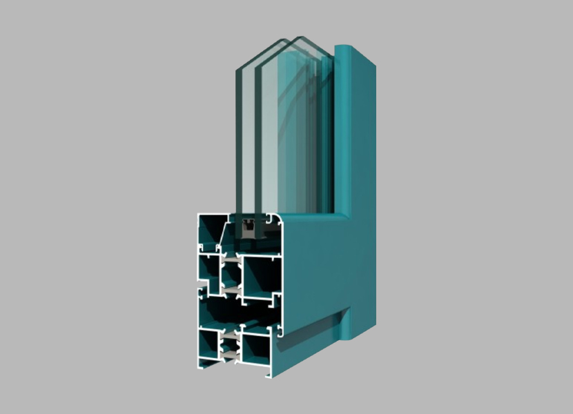 55GR Thermal Break Aluminium Profile