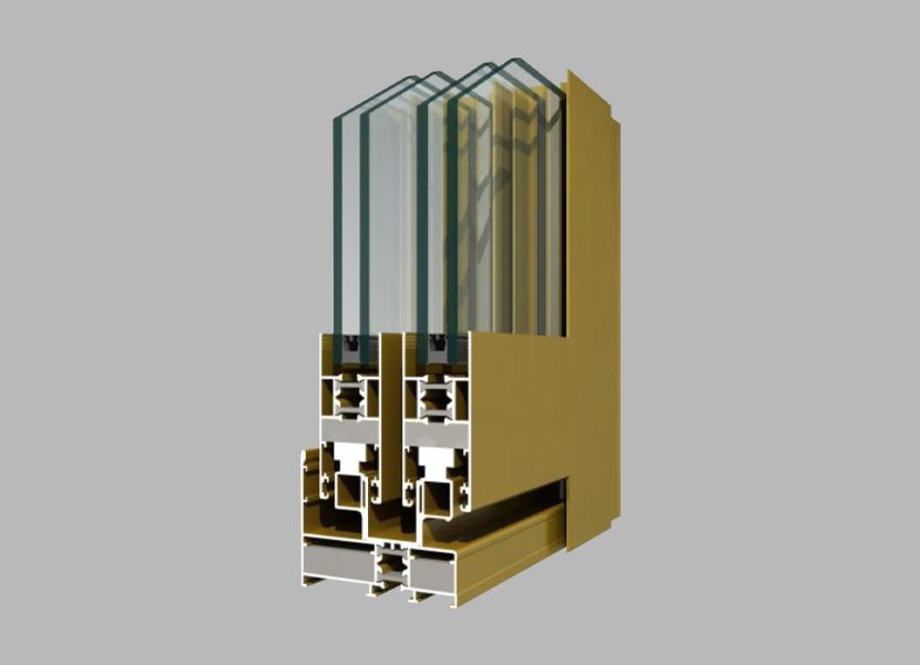 78GT Thermal Break Aluminium Profile