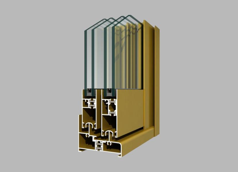 80GT Thermal Break Aluminium Profile