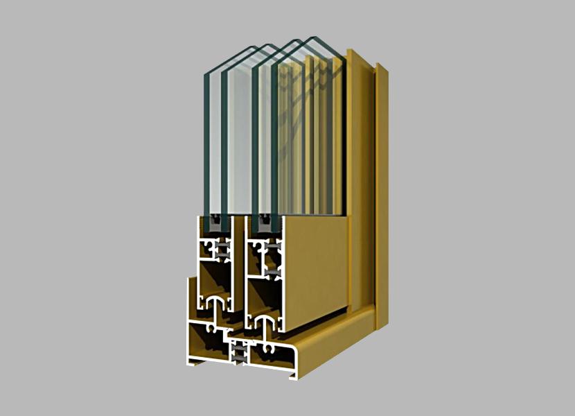 81GT Thermal Break Aluminium Profile