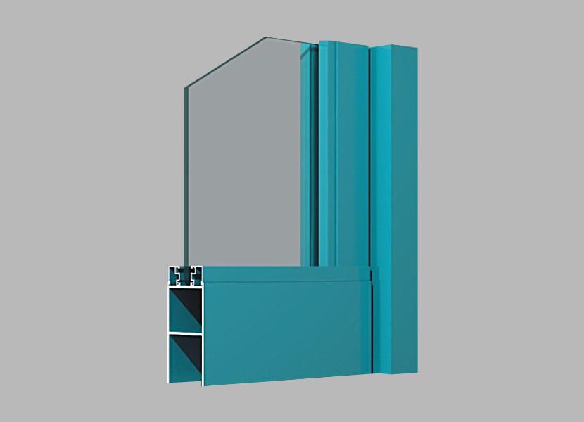 D46 Side-hung Door aluminum extrusion