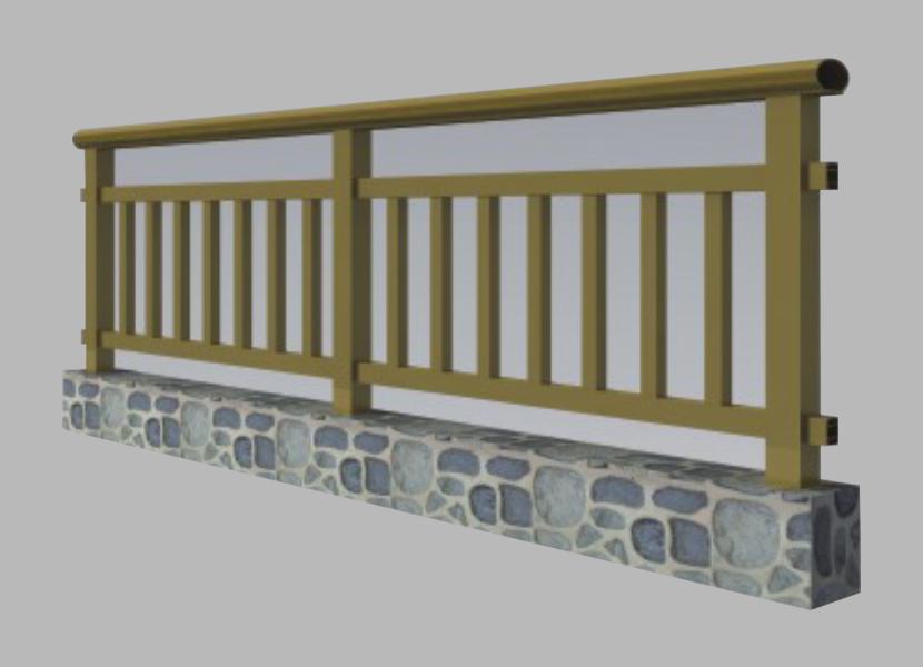 FS Aluminium Handrail Railing extrusion profiles
