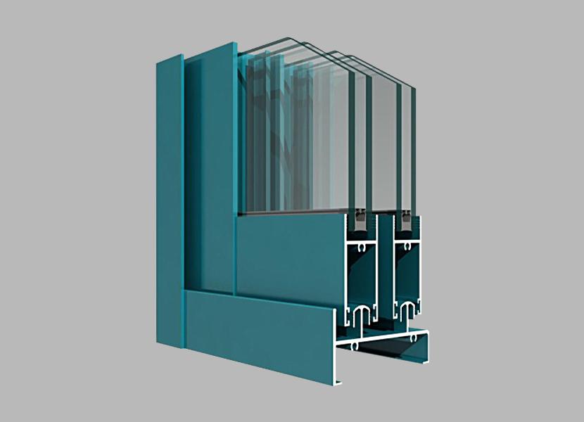 K88M Sliding Door industrial extrusion  profile