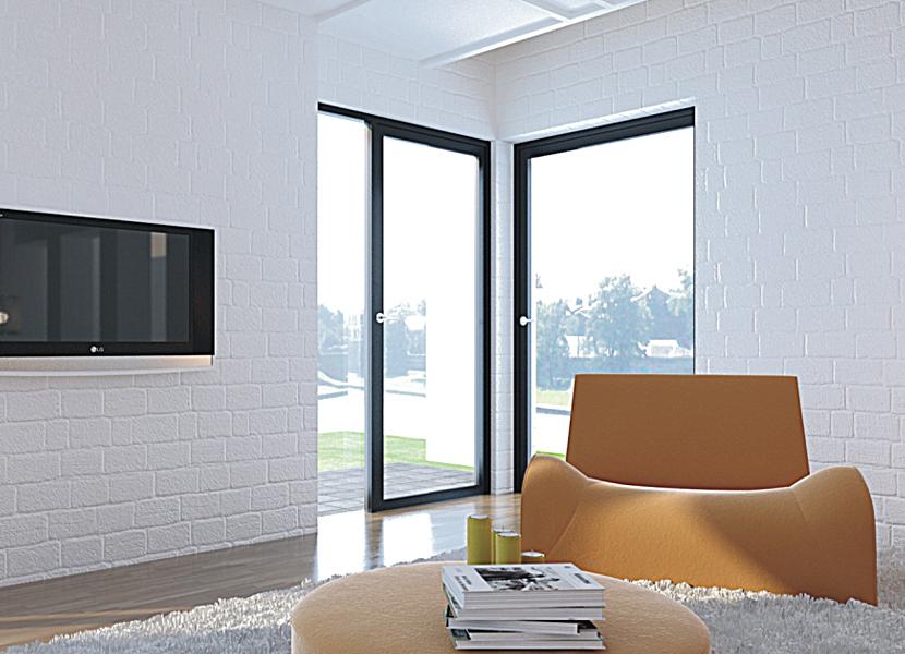 SKBF Side-hung Door aluminum extrusion profile