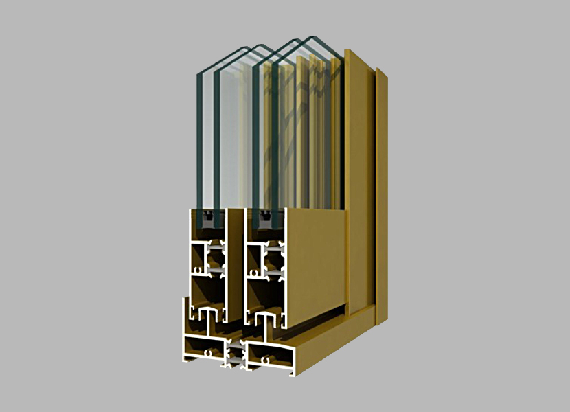 90M Thermal Break Aluminium Profile
